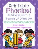 Printable Phonics 2nd Grade! Unit 12, Sounds of oi, oy!