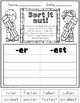Printable Phonics 2nd Grade! Unit 4, Suffixes! -s, -es, -ed, -ing, -est, -er!