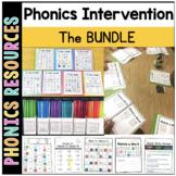 Printable Phonics Intervention BUNDLE