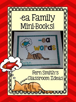 -ea Word Family Quick and Easy to Prep Printable Phonics R