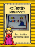 ee Word Family Quick and Easy to Prep Printable Phonics Reading Mini-Books