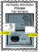 -ew Word Family Quick and Easy to Prep Printable Phonics Reading Mini-Books