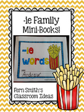 ie as long i Word Family Quick and Easy to Prep Printable Reading Mini-Books