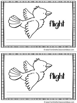 -ight Word Family Quick and Easy to Prep Printable Phonics Reading Mini-Books