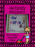 -ow Word Family Quick and Easy to Prep Printable Phonics R