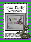 Y as Long I Word Family Quick and Easy to Prep Printable Phonics Mini-Books