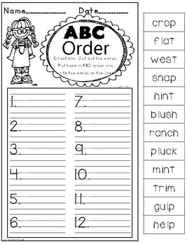 Printable Phonics Pack! 1st Grade, Unit 9, Closed Syllables!