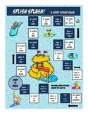 Phonics Vocabulary Game - Fun Water Park Theme