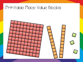 graphic relating to Place Value Blocks Printable named Printable Issue Price tag Blocks