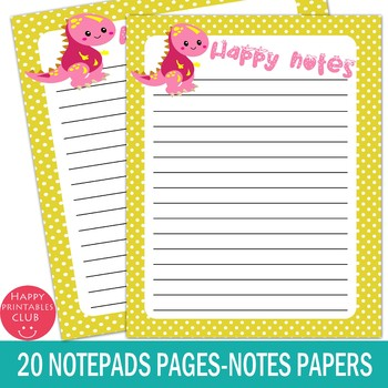 photograph relating to Printable Note Papers titled Printable Planner Notepads-Towards Do Lists-Notes Papers-Sheets