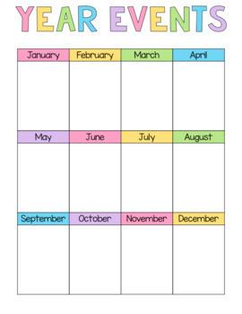 Printable Planner Pages (Fits inside Binder or Happy Planner)
