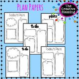 Printable Planner Sheets
