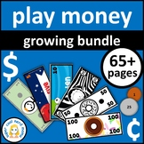 Printable Play Money Growing Bundle