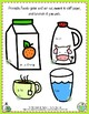 Printable Play food in FRENCH Set of 62 FOODS, DRINKS, and TABLE SETTING