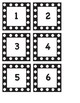 Printable Polkadot Calendar