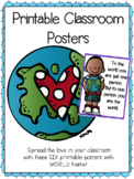 Printable Positive Classroom Posters
