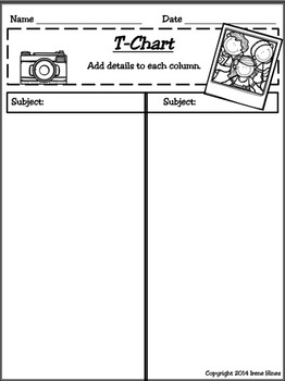 Printable Possibilities Packs ~ Kid Themed Foldables, Graphic Organizers, Paper