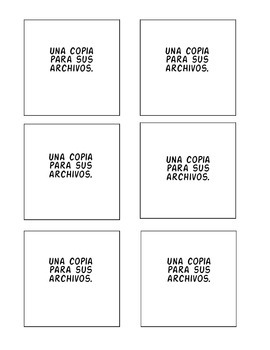 Printable Post-It Labels for IEPs