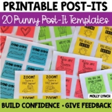 Printable Post-It Notes
