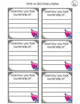 Printable Post-It Notes (*Growing Bundle*)