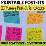 Printable Post-It Notes {Set Two}