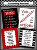 Before You Speak THINK & Inspirational Quotes Set of 4 Posters