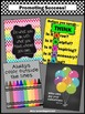Colorful Classroom Decorations, Posters Bundle Motivational Quotes