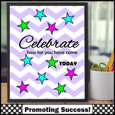FREE Inspirational Quote Poster CELEBRATE, Printable Class