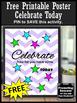 FREE Printable Poster Chevron Classroom Decor #kindnessnat