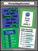 Classroom Posters for Back to School in Blue & Green with