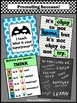 Classroom Rules and Superpower Set of 4 Posters with Owls