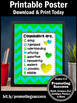 Green Definition of a School Counselor Sign, End of the Year Appreciation Gift