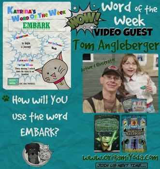 Printable Poster for Word of the Week: EMBARK Literacy & Vocabulary Builder