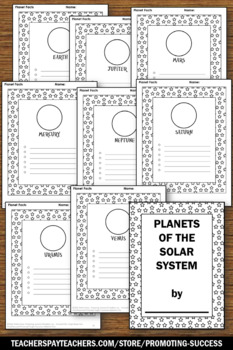 Planets and Solar System Research Posters for Science Bulletin Board Ideas