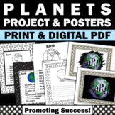 Planet Posters, Solar Systems and Planets Unit Supplement