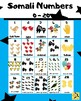 Printable Posters - (Somali & English ) - letters, numbers, colours and weekdays