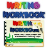 Practice Writing Worksheets Lines, Shapes, Letters, Colori