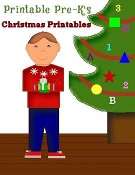 Printable Pre-K's Christmas Collection