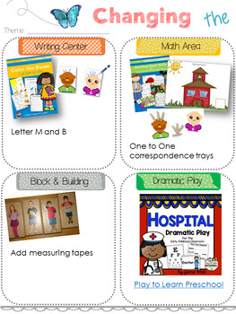 Printable Preschool Pacing Guide Week 1-5