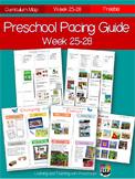 Printable Preschool Pacing Guide Week 25-28