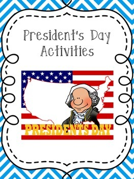 Presidents' Day Reading Activity Unit