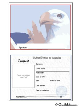 Printable Pretend Passport