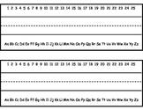 Printable Primary Name Tags