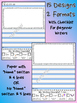 Printable Primary Writing Paper Beginner Writers Checklist