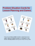 Printable Problem Situation Cards
