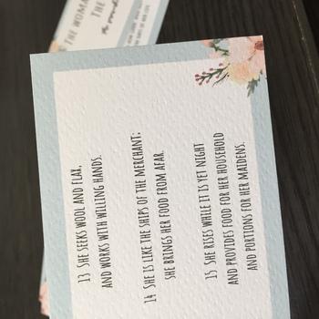 Printable: Proverbs 31 cards (ESV)