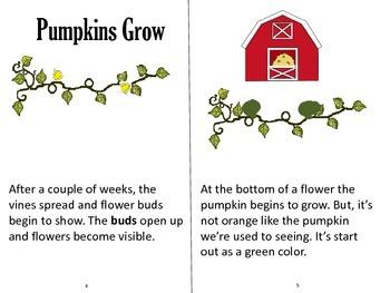 Printable Pumpkin Book
