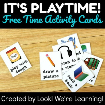Quiet Time Activity Cards - It's Playtime!
