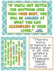 Printable Quotes about Reading in Orange, Blue, and Green