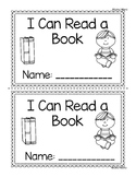 Printable Reader: I Can Read a Book
